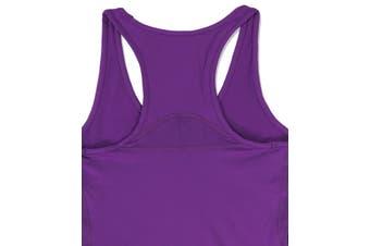 Asics NEW Purple Women's Size Small S Performance ASX Dry Tank Top