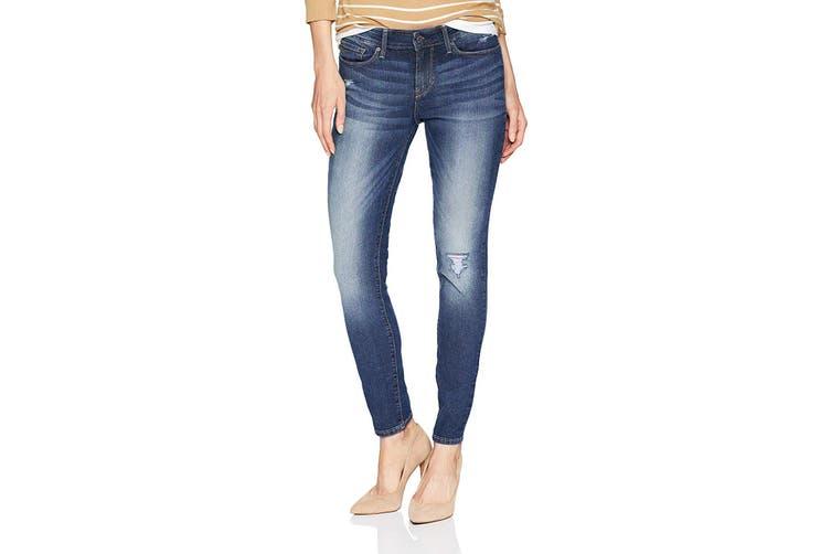 Levi's NEW BlueStonewash Women's Size 18L Long Skinny Mid Rise Jeans