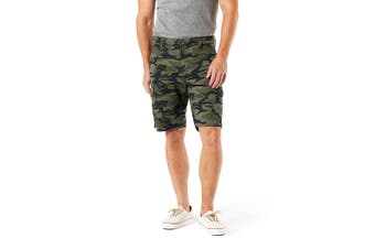 Levi's Signature Gold by Levi Strauss NEW Green Mens Size 30 Cargo Shorts