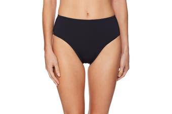 Bleu Rod Beattie Women's Bikini Bottom Black Size 4 High Waist Solid