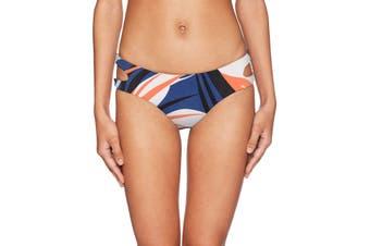 Bikini Lab Women's Swimwear Blue Size Small S Printed Bikini Bottom