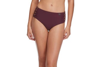Body Glove Women's Swimwear Purple Size XS Smoothies Retro Bottoms