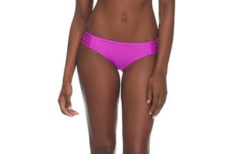 Body Glove Women's Swimwear Purple Size Small S Strappy Sides Bottom