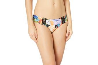 Lucky Brand Women's Swimwear Purple Size Small S Malibu Canyon Hipster