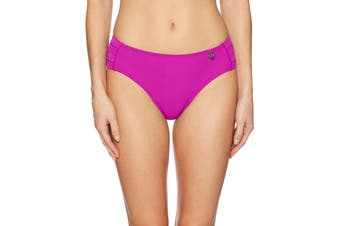Body Glove Women's Swimwear Purple Size Large L Full Coverage Bikini
