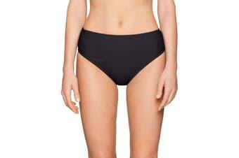 24th & Ocean Women's Swimwear Black Size XL Mid Waist Hipster Bikini