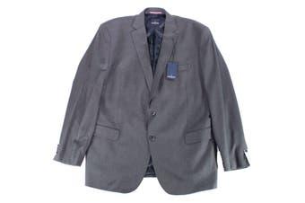 Daniel Hechter Blazer Charcoal Gray Size 46 Long Two Button Wool