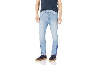 Calvin Klein Jeans Mens Jeans Blue Size 31X30 Skinny Apache Zipper