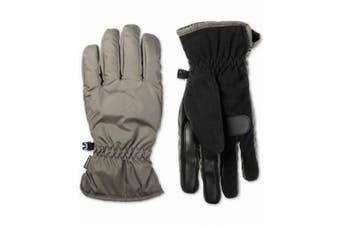 Isotoner Winter Gloves Beige Black Size XL Touchscreen Smart Accessory