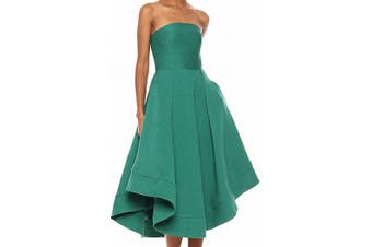 C/Meo Collective Women's Dress Hunter Green Size XL A-Line Strapless