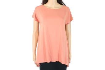 A-Line Women's Top Classic Muted Orange Size Small S Petite Knit