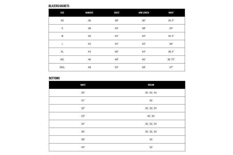 Kenneth Cole Mens Blazer Black Size XL Two Button 4-Way Stretch