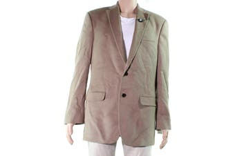 Lauren by Ralph Lauren Mens Sport Coat Beige Size 40 Long Wool