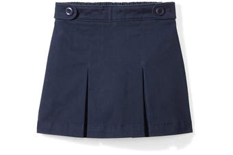 Amazon Essentials Blue Size Medium M Girl's Pleated Uniform Skort