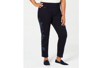 Style & Co. Women's Jeans Blue Size 18W Plus Stretch Skinny Leg