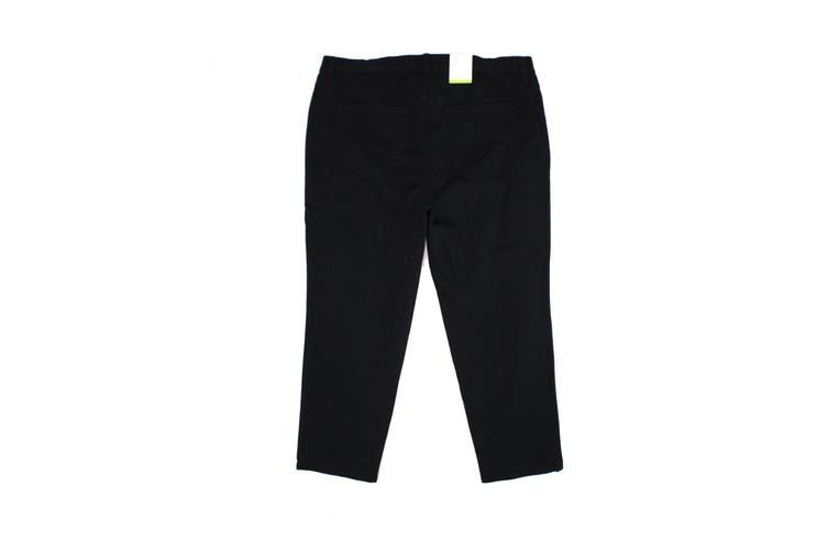 Style & Co. Women's Black Size 24WP Plus Straight Leg Jeans Stretch