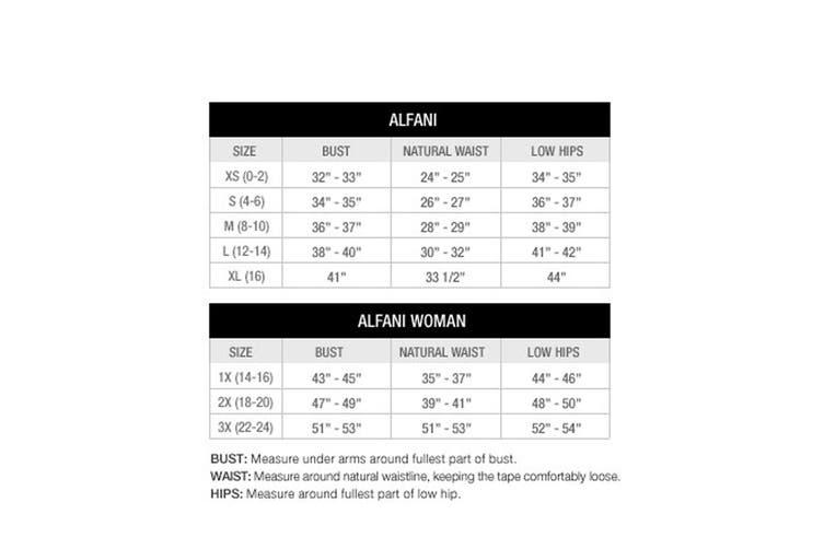 Alfani Women's Pants Black Size 2X Plus Tie-Waist Wide-Leg Stretch