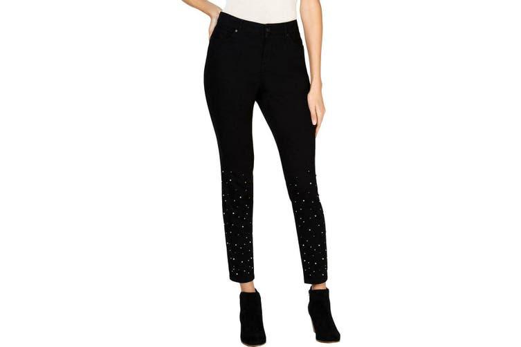 Style & Co. Women's Jeans Black Size 22W Plus Stretch Pearl Skinny