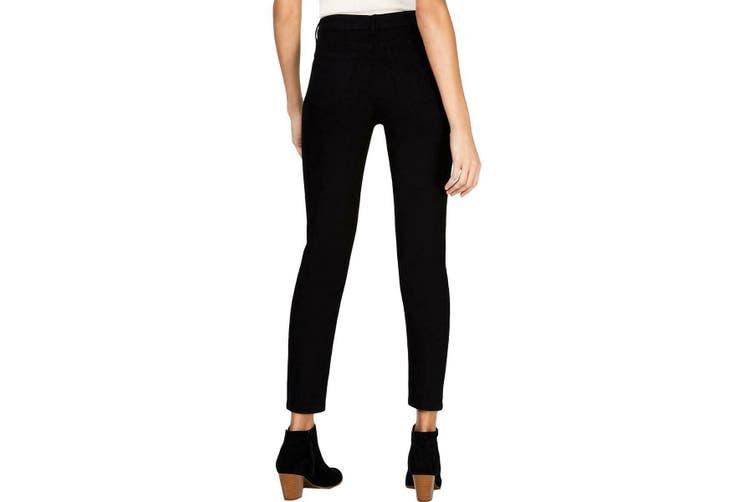 Style & Co. Women's Jeans Black Size 14W Plus Studded Hem Stretch