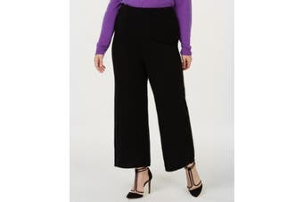Charter Club Women's Black Size 3X Plus Pull On Pants Cashmere Stretch