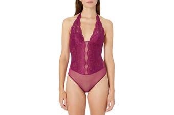 b.tempt'd Women's Purple Size Medium M Lace Ciao Bella Body Suits