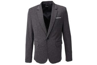 Flatseven Mens Suit Separate Gray Size Small S Single Button Jacket