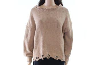 Absolutely By Worldwide Creative Women's Sweater Beige Size XS Pullover