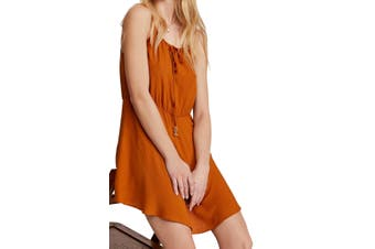 Free People Women's Dress True Rust Orange Size XS Shift Shake It Up