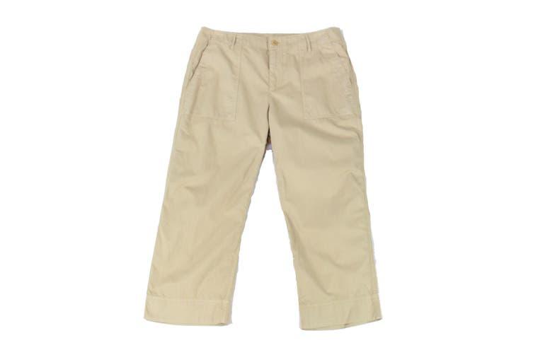 Lauren by Ralph Lauren Women's Pants Beige Size 10P Petite Capris