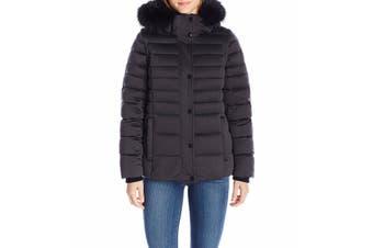 Andrew Marc Women's Jacket Black Size XS Puffer Convertible Down Vest