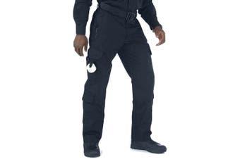 5.11 Tactical Mens Blue Size 30X32 Taclite EMS Work Pants Stretch