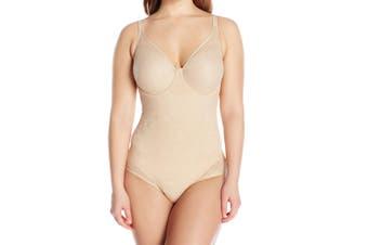 Bali Women's Nude Beige Size 36D Unltra Light Body Briefer Suits