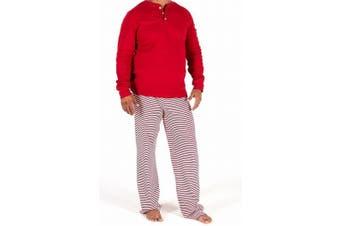 Burt's Bees Baby Mens Sleepweart Size Medium M Striped Pajama Sets