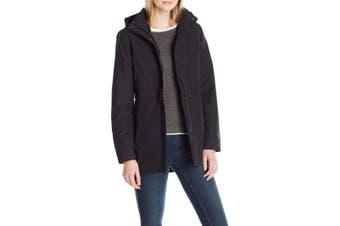 Charles River Apparel Women's Black Size Large L Hooded Logan Jacket
