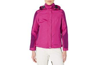 Arctix Women's Jacket Magenta Pink Size Large L 3 In 1 Hood Puffer