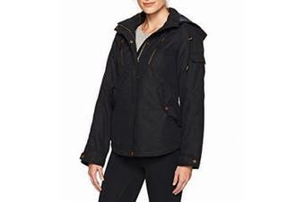 Arctix Women's Jacket Black Size 1X Plus Insulated Removable Hood