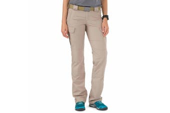 5.11 Tactical Women's Pants Beige Size 10X33 Stryke Cargo Stretch