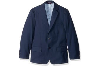 Tommy Hilfiger Boy's Suit Navy Blue Size 8 Two-Button Blazer Notched