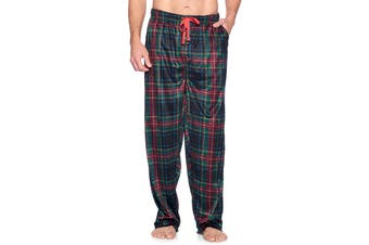 Ashford & Brooks Mens Sleepwear Red Size Small S Fleece Lounge Pants