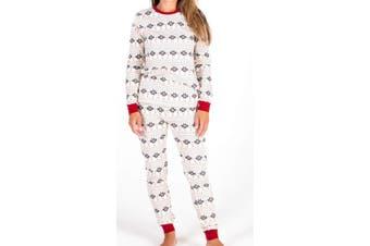 Burt's Bees Baby Women's Sleepwear Beige Size Small S One Piece Floral