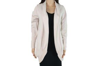 Designer Brand Women's Sweater Beige Size Medium M Open Front Cardigan