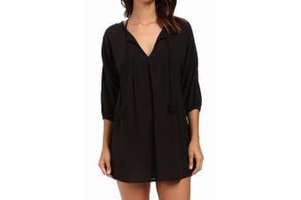 Billabong Women's Swimwear Midnight Black Size Small S Dress Coverup