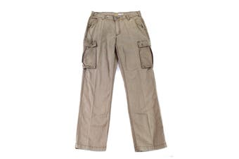 Carhartt Mens Pants Beige Size 34X32 Cargo Rugged Relaxed Fit Solid