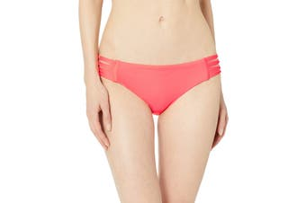 Body Glove Women's Swimwear Coral Pink Size Small S Side-Strappy