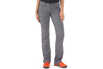 5.11 Tactical Women's Pants Gray Size 14X34 Full Gusseted Flex Cirrus
