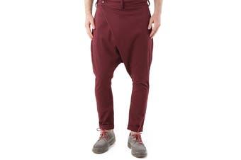 Absolut Joy Men's Trousers In Bordeaux