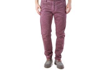 525 Men's Trousers In Bordeaux