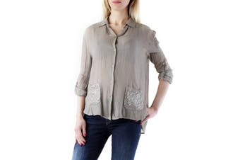 525 Women's Blouse In Brown