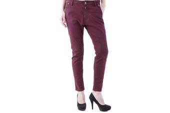 525 Women's Trousers In Bordeaux