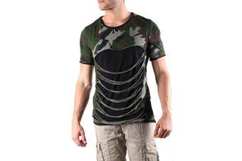 Absolut Joy Men's T-Shirt In Brown